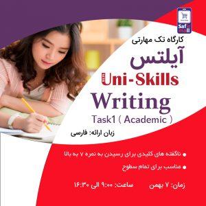 کارگاه آیلتس Writing Task 1 Academic بهمن ماه